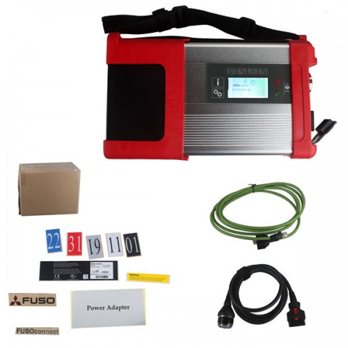 Mitsubishi Fuso SD Connect Compact C5 XENTRY Diagnostic Kit Support WIFI
