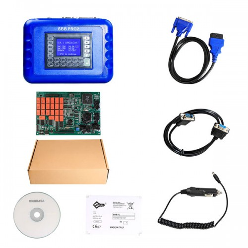 V48.88 Sbb Pro2 Key Programmer Support New Cars to 2019 (Replace SBB V46.02)