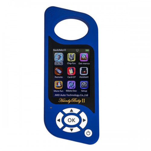 JMD Handy Baby 2 II Hand-held Key Programmer Car Key Copy Tool for 4D/46/48/G Chips