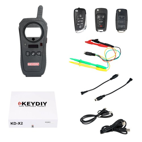 (UK Ship) KEYDIY KDX2 KD-X2 Remote Maker Unlocker and Generator-Transponder Cloning Device with 96bit 48 Transponder Copy Function No Need Token