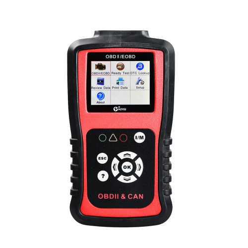 Original KZYEE KC201 OBDII CAN SCAN TOOL Free Shipping