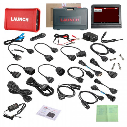 <b>(Flash Sale €885)</b> Original Launch X431 V+ Plus HD Heavy Duty Truck Diagnostic Module Support Wifi/Bluetooth (Choose SP184-C)