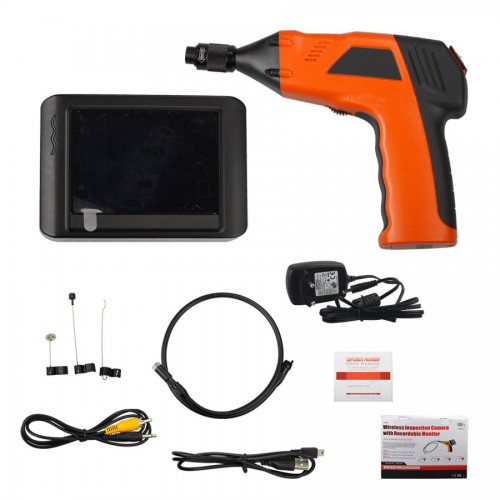Wireless Inspection Camera with 3.5 inch Monitor Digital Inspection Videoscope