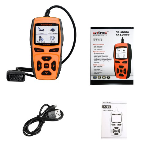 Autophix 7710 Automotive Diagnostic Tool for Ford Support Enginge+ABS+Airbags+Auto Transmission+Instrument & Other Control Systems