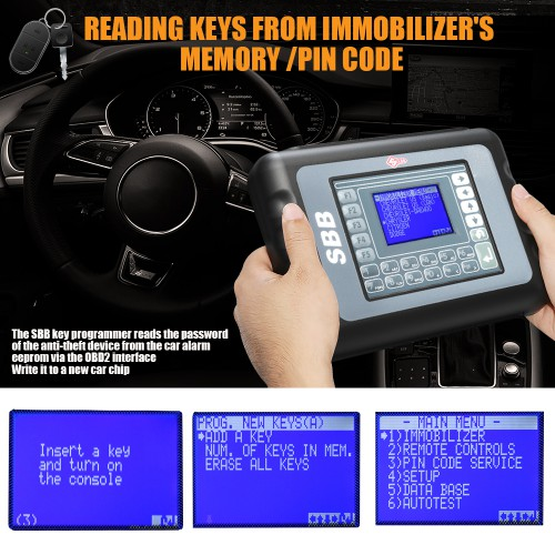 New SBB Key Programmer V33 2011 Version