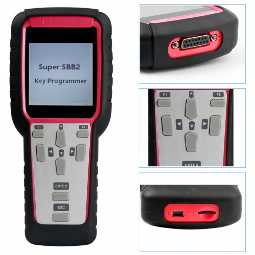 New Generation Super SBB2 Car Key Programmer for IMMO+Odometer+OBD Software+Oil/Service Reset+TPMS+EPS+BMS Function Scanner