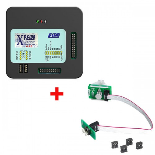 V6.12 XPROG Box ECU Programmer with USB Dongle PLUS VXSCAN 8Pin Adapter BMW FEM-BDC