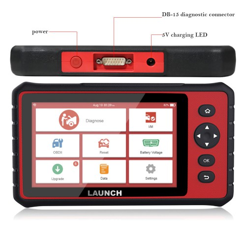 LAUNCH X431 LAUNCH CRP909 All Systems OBD2 Car Diagnostic Scanner With 15 Special Function