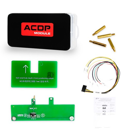 [UK Ship] Yanhua Mini ACDP Programming Master BMW Full Package for BMW With CAS/ FEM BDC / ISN/ 35xx / Key Refresh / FRM / EGS Module