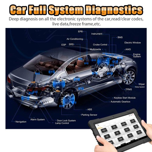[EU/UK Ship No Tax] Humzor NexzDAS Pro Bluetooth Full System Diagnostic Tool Professional OBD2 Scanner with IMMO Oil Reset, TPMS, ABS, SAS, TPS, DPF