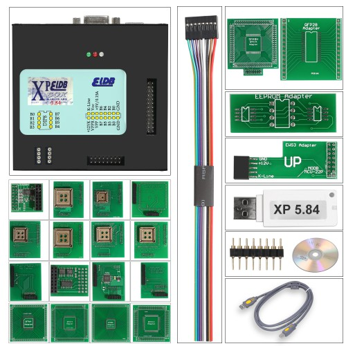 (Shipping from UK) XPROG-M Box V5.8.4 Xprog M 5.84 Xprog Car ECU Programmer with USB Dongle