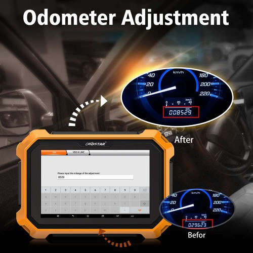 [UK/EU Ship] OBDSTAR X300 DP Plus X300 PAD2 C Package Full Version Support IMMO+ Odometer Adjustment+ Special Functions Get Free Renault Converter