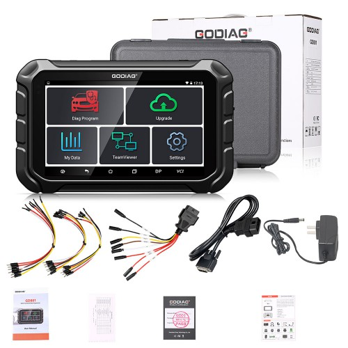 GODIAG GD801 ODOMASTER OBDII Odometer Adjustment Mileage Correction Tool Support Free Update Online