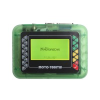 Universal MOTO 7000TW Motorcycle Scan Tool 8.1 Exclusive Sales