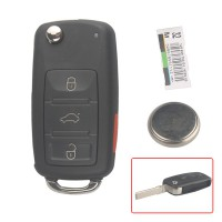315MHZ 3 Button Remote Key for VW Touareg