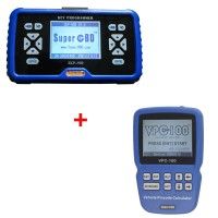 Original SuperOBD SKP-900 key programmer + VPC-100 PinCode Calculator save 15EUR