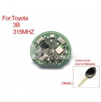 Remote Board Key 3 Buttons 315MHZ for Toyota (dark leg board)