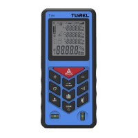 Tuirel T100 Handheld 100m/229ft/2755in Laser Distance Meter Range Finder Measure Instrument Diastimeter