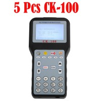 5pcs CK-100 Auto Key Programmer V46.02 SBB The Latest Generation