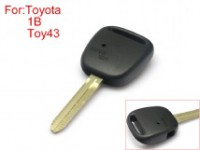 Toyota remote key shell side face 1 buttins easy to cut copper without logo TOY43 10pcs/lot