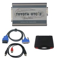 Latest V12.10.019 TOYOTA OTC 2 for all Toyota and Lexus Diagnose and Programming
