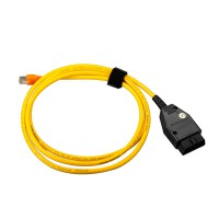 ENET (Ethernet to OBD) Interface Cable for BMW E-SYS ICOM without Software Free Shipping