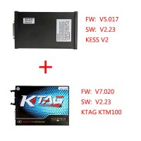 FW V5.017 SW V2.47 KESS V2 Plus FW V7.020 SW V2.23 KTAG KTM100 Package Offer Free Shipping From UK