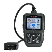 XTUNER AM1011 OBDII/EOBD PLUS Code Reader Support Multi-languages Update Online