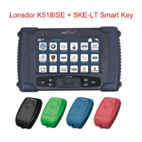 Lonsdor K518ISE Key Programmer Plus SKE-LT Smart Key Emulator 4 in 1 Free Shipping