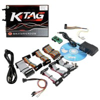 Red PCB! V7.020 KTAG V2.25 K-TAG EU Version ECU Programmer with Unlimited Token Get ECM TITANIUM V1.61 for free Shipping from UK