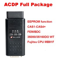 Yanhua Mini ACDP Key Programming Master EEPROM function/CAS1-CAS4+/FEM/BDC/ISN Read/35080/35160DO WT/Fujitsu CPU MB91F Full Package