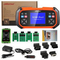 OBDSTAR X300 PRO3 Key Master with Immobiliser/Odometer Adjustment/ EEPROM/PIC+OBDII English Version free shipping