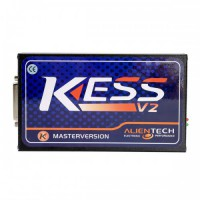 Newest V2.47 Kess V2 Firmware KESS V5.017 ECU Programmer Online Version No Token Limited Only Main Unit with software cd for free