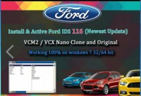 Latest V118.05 Ford VCM VCM2 IDS Full Software for Ford VCM II Support Online Programming