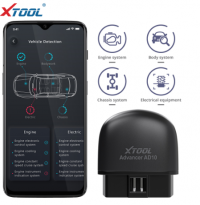 2020 Original XTOOL AD10 OBD2 EOBD ELM327 Bluetooth Diagnostic Scanner Support Android IOS Windows