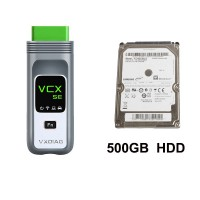 VXDIAG VCX SE Diagnostic Tool for All BMW E, F, G Series Support Programming and Coding with BMW Software HDD