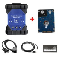 GM MDI 2 Multiple Diagnostic Tool with V2020.03 Software HDD Support WIFI