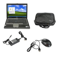 Dell D630 Core2 Duo 1,8GHz, 4GB Memory WIFI, DVDRW Second Hand Laptop Especially for MB STAR/ BMW ICOM