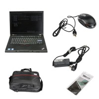 Second Hand Lenovo T410 Laptop I5 CPU 4GB Memory WIFI 253GHZ DVDRW For BMW ICOM MB Star