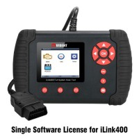 Software License For Vident iLink400 Full System OBD2 Scan Tool