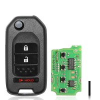 Xhorse XKHO02EN Universal Remote Key Fob 2+1 Button for Honda Type for VVDI Key Tool ( English Version )