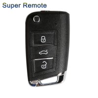 XHORSE XEMQB1EN Super Remote Key MQB Style 3 Buttons Built-in Super Chip English Version