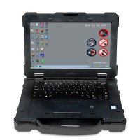 Second Hand Panasonic DELL 7414 Laptop With touch i5 6300 8gb memory ( No HDD included )