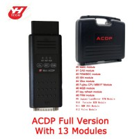 Yanhua Mini ACDP Full Package Total 13 Modules with Free BMW ECU Clone Module and Hot Bench Interface Board