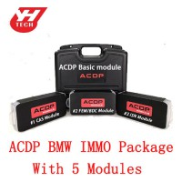 Yanhua Mini ACDP BMW IMMO Package for BMW With CAS/ FEM BDC/ ISN Modules and Free Get Refresh BMW Key Module