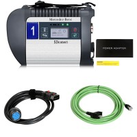 DoIP MB SD C4 Plus Connect Compact 4 Benz Star Diagnosis Scanner with LAN and OBD2 Cable