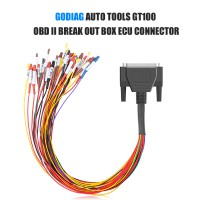 GODIAG Colorful Jumper DB25 Cable for All ECU Connection