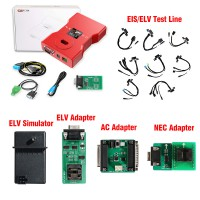 CGDI MB Prog Benz Key Programmer with Full Adapters Including EIS/ELV Test Line + ELV Adapter + ELV Simulator + AC Adapter + NEC Adapter