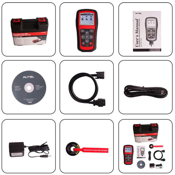 Original MaxiTPMS TS401 TPMS Diagnostic and Service Tool