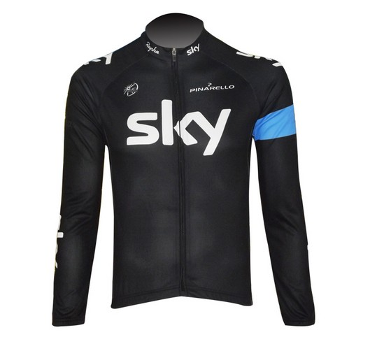 Men's Autumn Winter Cycling jersey long sleeves with bib pants